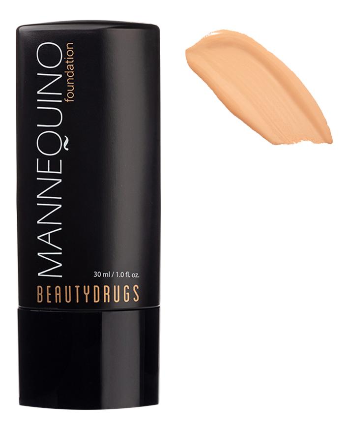 Тональный крем для лица с атласным финишем Mannequin Foundation 30мл: No 02