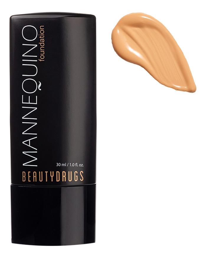 Тональный крем для лица с атласным финишем Mannequin Foundation 30мл: No 03