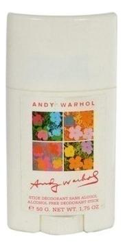 цена на Andy Warhol: дезодорант твердый 50г