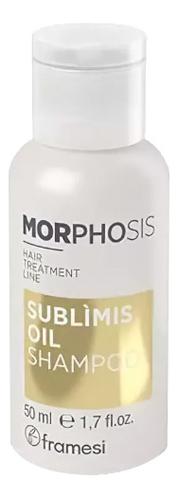 Шампунь для волос на основе арганового масла Morphosis Sublimis Oil Shampoo: Шампунь 50мл
