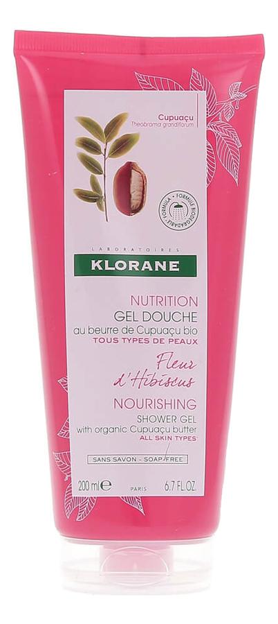 Гель для душа Nutrition Gel Douche Fleur dHibiscus 200мл (гибискус):