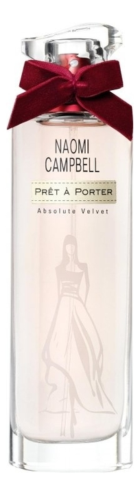Naomi Campbell Pret A Porter Absolute Velvet: туалетная вода 30мл naomi campbell pret a porter silk collection туалетная вода 30мл
