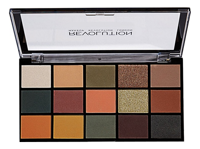 Купить Палетка теней для век Reloaded Palette: Iconic Division, Makeup Revolution