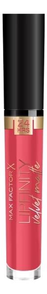 Купить Стойкая помада для губ Lipfinity Velvet Matte: 025 Red Luxry, Max Factor