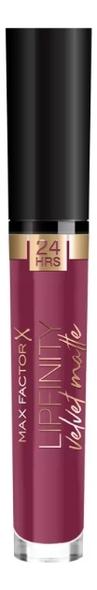 Стойкая помада для губ Lipfinity Velvet Matte: 050 Satin Berry max factor blooming berry