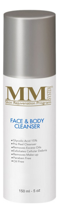 Очищающий гель-пилинг для лица и тела с гликолевой кислотой Face & Body Cleanser Gel 15%: Гель-пилинг 150мл химический пилинг гликолевой кислотой