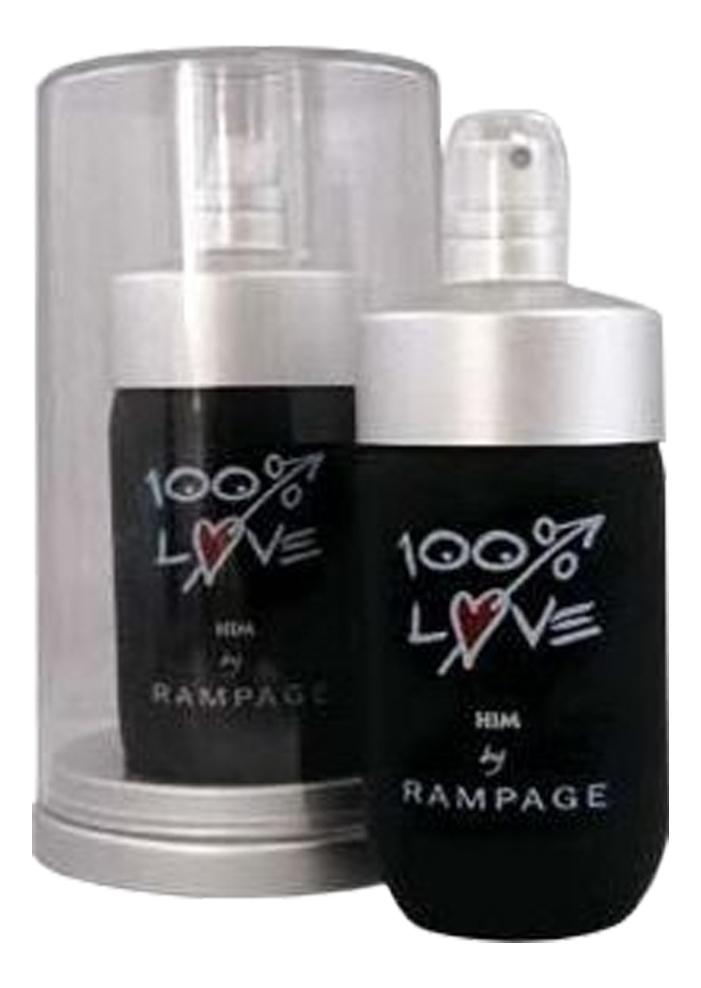 Rampage 100% Love Him: туалетная вода 75мл on the rampage