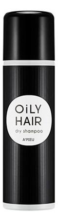 Сухой шампунь для жирных волос Oily Hair Dry Shampoo 100мл hipertin шампунь для жирных волос linecure oily hair types shampoo хипертин 300 мл