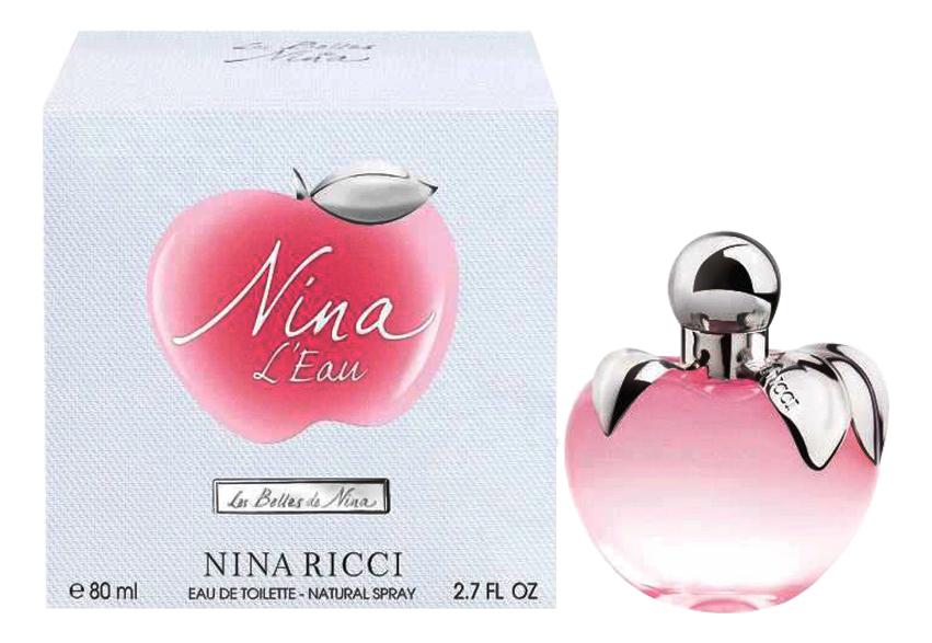 Nina L'Eau Les Belles De Nina: туалетная вода 80мл
