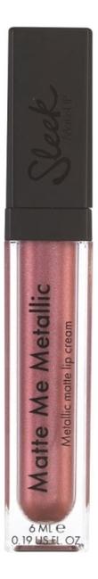 Блеск для губ Matte Me 6мл: Rusted Rose (Metallic) блеск для губ matte me 6мл 1043 volcanic metallic