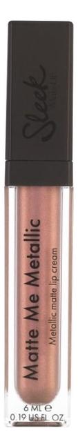 Блеск для губ Matte Me 6мл: 1043 Volcanic (Metallic), Sleek MakeUp  - Купить