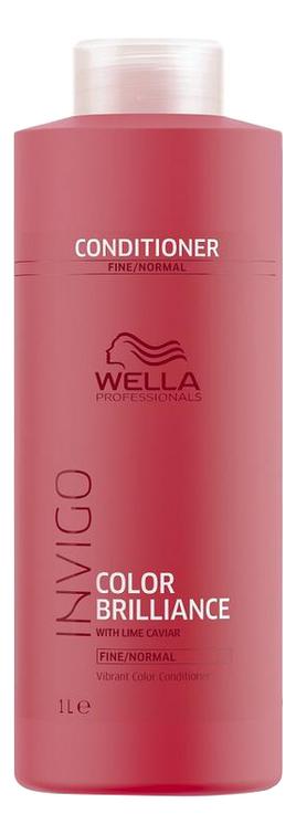 Бальзам для окрашенных нормальных и тонких волос Invigo Color Brilliance Conditioner: Бальзам 1000мл бальзам для окрашенных волос silk touch conditioner for color stabilizer 1000мл