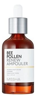 Обновляющая ампульная сыворотка для лица Bee Pollen Renew Ampouler 40мл обновляющая сыворотка с полифенолами винограда 100 мл swisspure для лица