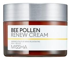 Фото - Обновляющий крем для лица Bee Pollen Renew Cream 50мл обновляющий эксфолиант для лица renew exfoliant 50мл