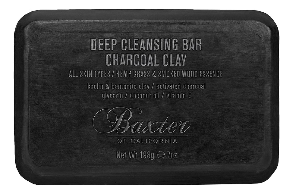 Мыло для тела Deep Cleansing Bar Charcoal Clay 198г