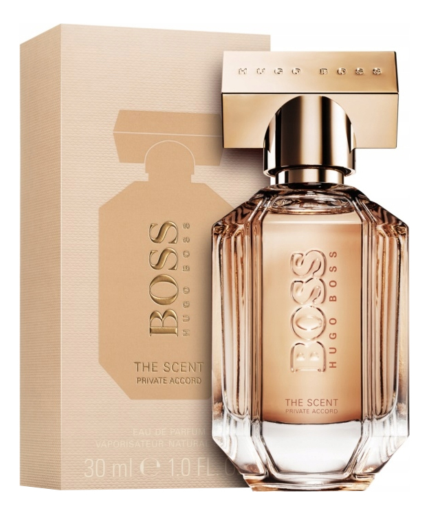 Hugo Boss The Scent Private Accord For Her: парфюмерная вода 30мл