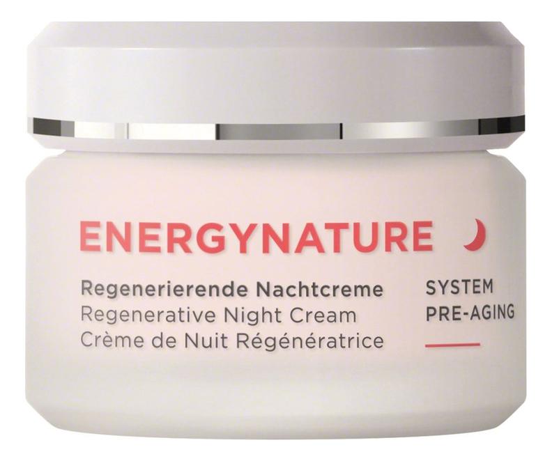 Купить Ночной крем для лица Energynature Regenerative Night Cream 50мл, Annemarie Borlind