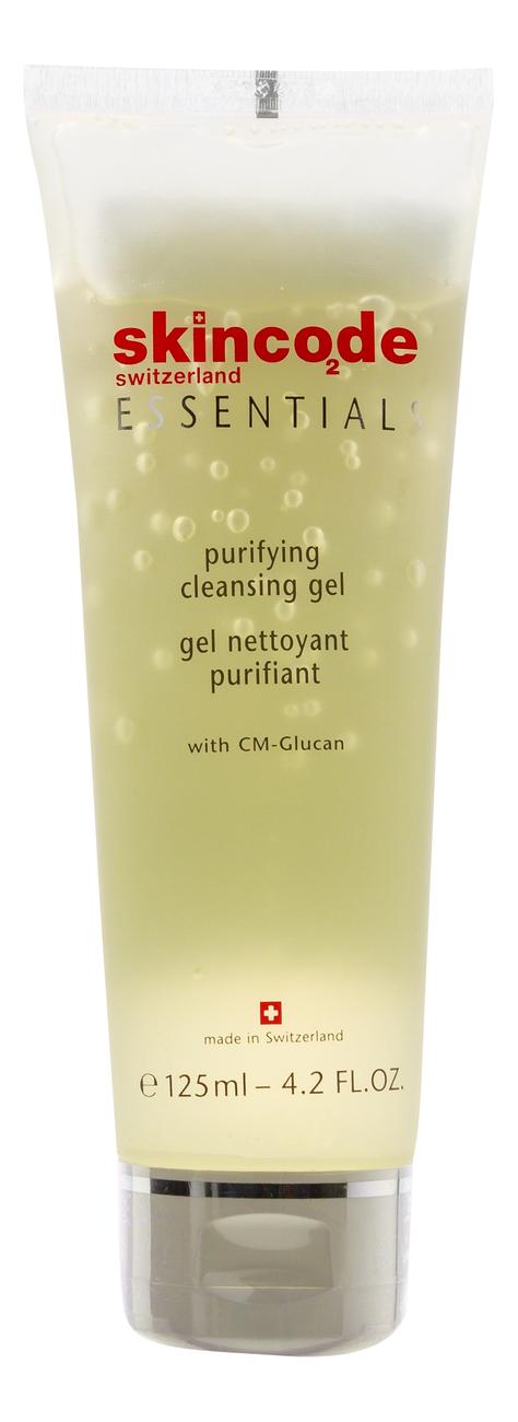 Фото - Очищающий гель для лица Essentials Purifying Cleansing Gel 125мл: Гель 125мл очищающий гель скраб для лица придающий сияние nordic c [valo] 125мл