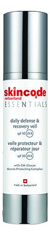 Купить Восстанавливающий крем для лица Essentials Daily Defense & Recovery Veil SPF30 50мл, Восстанавливающий крем для лица Essentials Daily Defense & Recovery Veil SPF30 50мл, Skincode