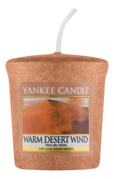 Ароматическая свеча Warm Desert Wind: Свеча 49г