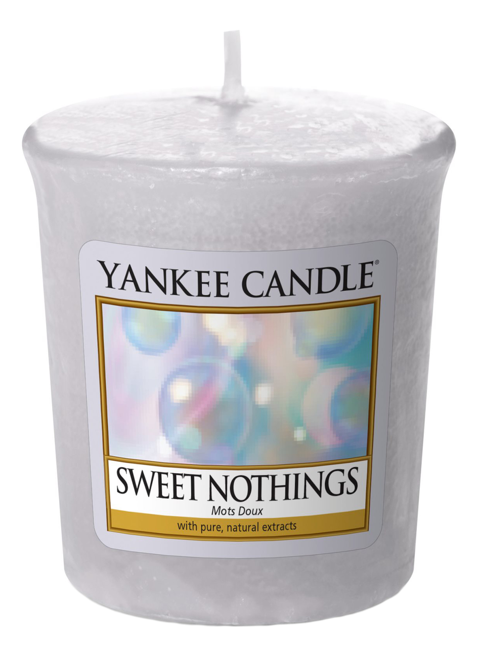 Купить Ароматическая свеча Sweet Nothings: Свеча 49г, Yankee Candle