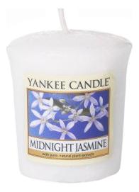 Купить Ароматическая свеча Midnight Jasmine: Свеча 49г, Yankee Candle