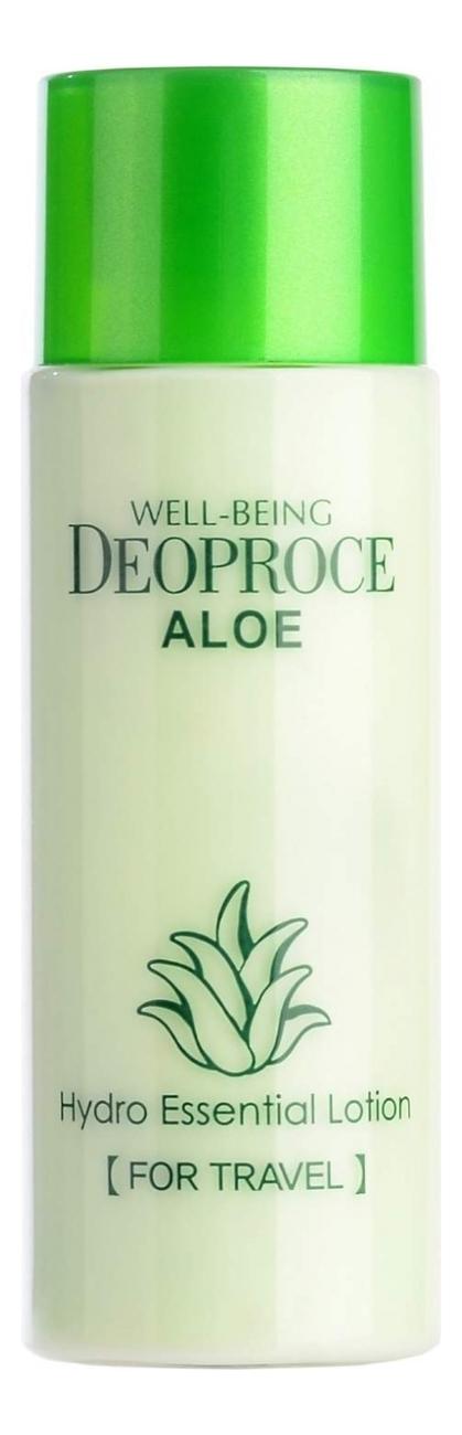 deoproce мист well being hydro Лосьон для тела с экстрактом алоэ Well-Being Aloe Hydro Essential Lotion 50мл