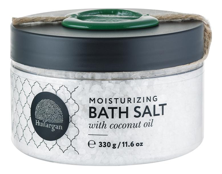 Купить Соль для принятия ванн Увлажнение с кокосовым маслом Moisturizing Bath Salt With Coconut Oil 330г, Huilargan