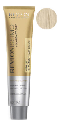 Купить Краска для волос Revlonissimo Colorsmetique Hair Color Intense Blonde 60мл: 1201 Пепельный, Revlon Professional