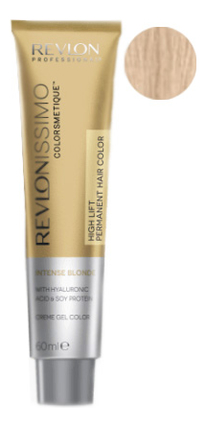 Купить Краска для волос Revlonissimo Colorsmetique Hair Color Intense Blonde 60мл: 1202 Платиновый, Revlon Professional