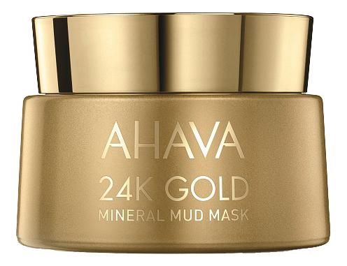 Купить Маска для лица 24K Gold Mineral Mud Mask 50мл, AHAVA