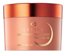 CEFINE Ночное желе для лица Beauty Pro Night Moisture Gelee Premier W 80г