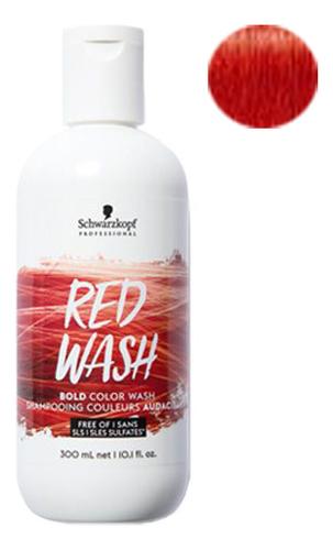 Купить Тонер для волос Bold Color Wash 300мл: Red, Schwarzkopf Professional