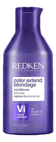 Купить Кондиционер для волос Color Extend Blondage Conditioner: Кондиционер 300мл, Redken