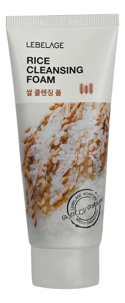 Пенка для умывания с экстрактом риса Rice Cleansing Foam 100мл недорого