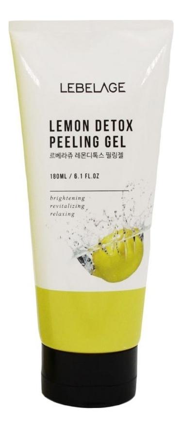 Очищающий гель для лица Lemon Detox Peeling Gel 180мл