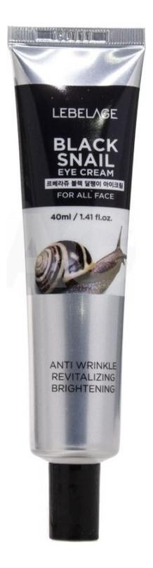 Фото - Крем для области вокруг глаз с улиточным муцином Black Snail Eye Cream: Крем 40мл lebelage крем для глаз waterful mayu eye cream 40 мл