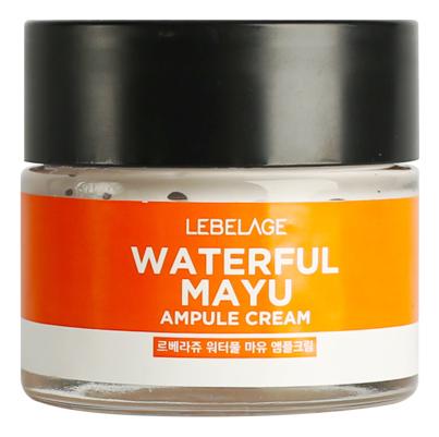 Фото - Ампульный крем для лица с лошадиным жиром Waterful Mayu Ampule Cream 70мл lebelage крем для глаз waterful mayu eye cream 40 мл