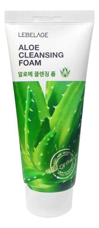 Пенка для умывания с экстрактом алоэ Cleansing Foam Aloe 100мл