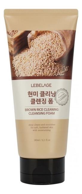 Пенка для умывания с экстрактом коричневого риса Brown Rice Cleaning Cleansing Foam 180мл takasago brown rice шампунь