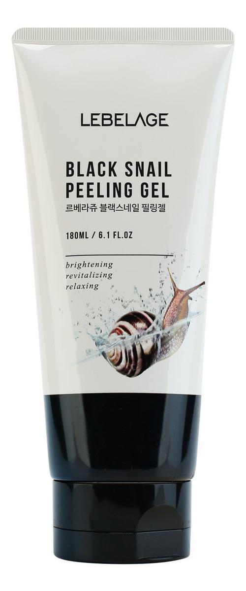 Пилинг-гель для лица с муцином улитки Black Snail Peeling Gel 180мл chi luxury black seed oil curl defining cream gel