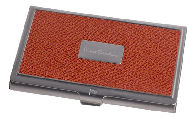 Визитница в металлическом корпусе PC1139 Orange
