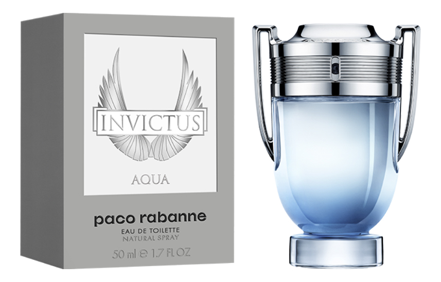 Paco Rabanne Invictus Aqua 2018: туалетная вода 50мл недорого