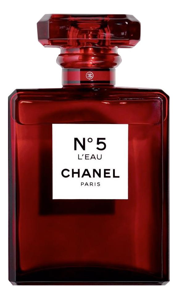 No5 L'Eau Red Edition: туалетная вода 100мл signature red dragon туалетная вода 100мл тестер