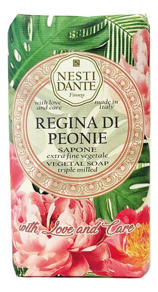 Купить Мыло Regina di Peonie 250г (королевский пион), NESTI DANTE