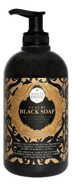 Купить Жидкое мыло Luxury Black 500мл (роскошное черное), NESTI DANTE