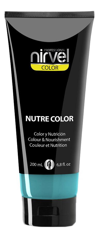 Купить Гель-маска для окрашивания волос Nutre Color 200мл: Turquoise, Nirvel Professional