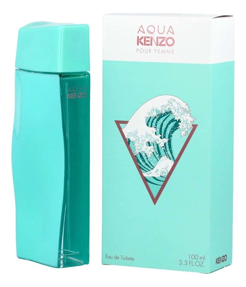 Купить Aqua Kenzo Pour Femme: туалетная вода 100мл