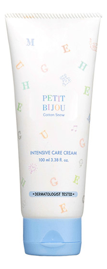Купить Крем для тела Petit Bijou Cotton Snow Intensive Care Cream 100мл, Etude House