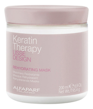 Alfaparf Milano Маска для волос Lisse Design Keratin Therapy Rehydrating Mask